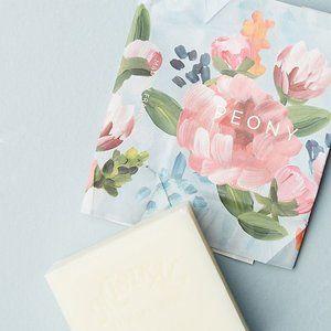 ANTHROPOLOGIE Mistral Floral Bar Soap